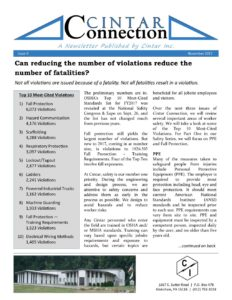 Cintar Connection - Issue 4 - OSHA Top 10 Violations 2017